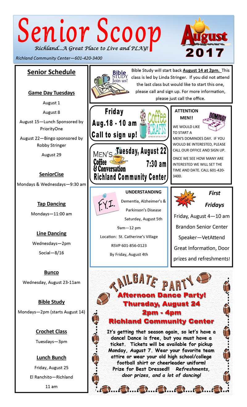 News & Events   Page 3 of 5   Richland MS