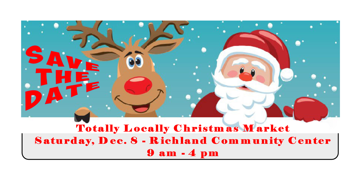 Saay December 8th Richland Community Center 9 A M To 4 P