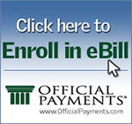 Enroll in eBill